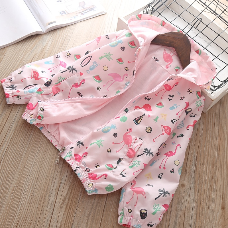 Chaqueta de otoño para bebé, Sudadera con capucha de moda coreana para niñas, abrigo para niños, ropa de calle de primavera para niñas de 3 4 5 6 años, ropa de disfraz