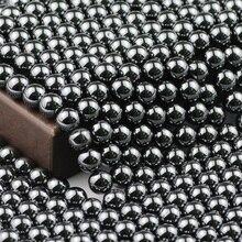 BTFBES perles dhématite noire pierre naturelle 3 4 6 8 10 12MM perles en vrac choisir la taille pour bijoux Bracelet collier boucle doreille faisant bricolage