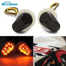 Nordson Motorfiets LED Lamp Richtingaanwijzers Indicator knippert photoflash verlichting voor Yamaha YZF R1 R6 R6S R3 R6S FZ1 FZ6 FZ8 FAZER