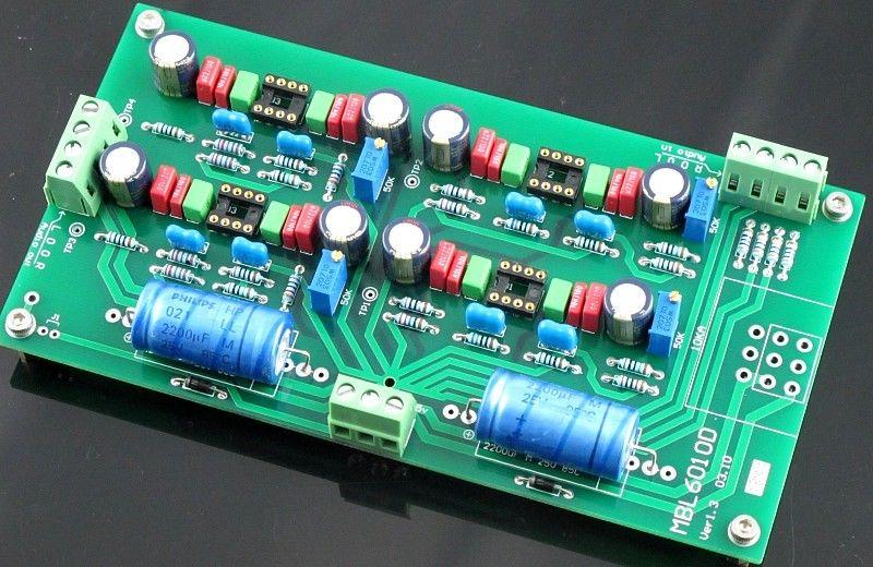 ZEROZONE Assembled V1.3 Hifi preamplifier board base on MBL6010 preamp (no opamp) L5-48