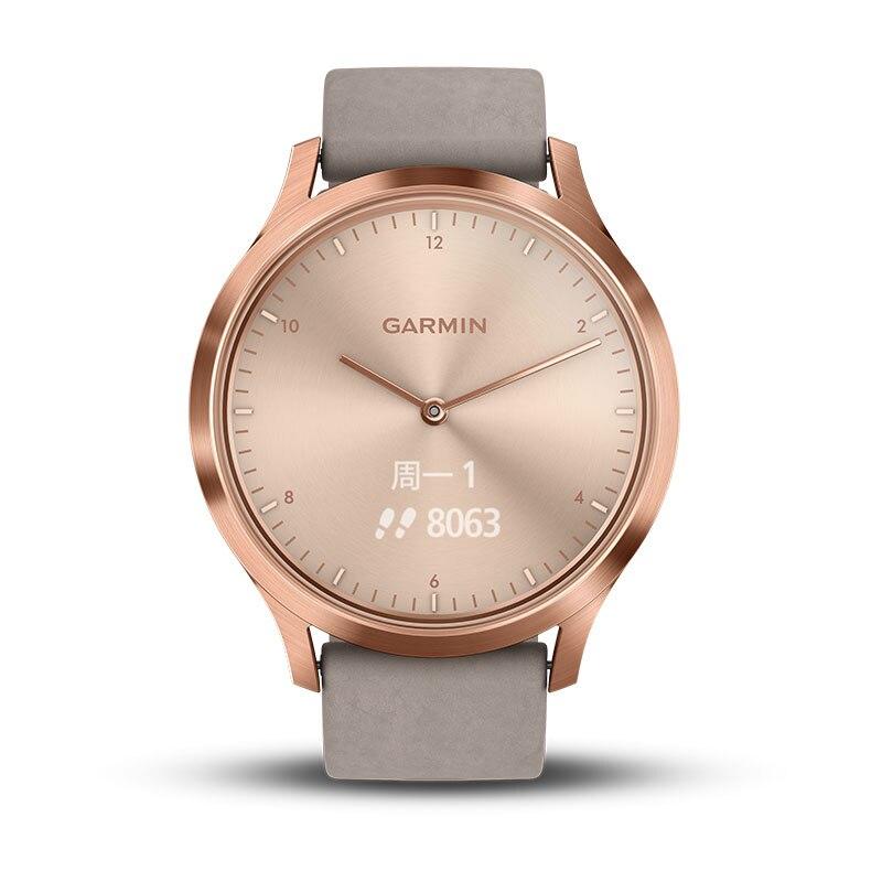 Garmin vivomove HR men Womens Rose Gold Watches  Clock Leather  Simple Bracelet watch Mesh Stainless Steel smart sports watches