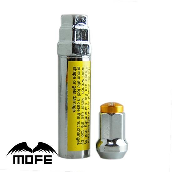 Rodas De Alumínio Mofe Corrida Lug Nuts 35mm D1-Spec Roda Lug Nuts P1.5 Preto Azul Vermelho Ouro Roxo