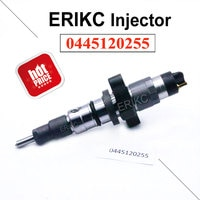 ERIKC 0445 120 255 דלק Dispenser Inyector 0445120255 מסילה משותפת דיזל מזרק 0 445 120 255 שמן משאבת הזרקת עבור CUMMINS
