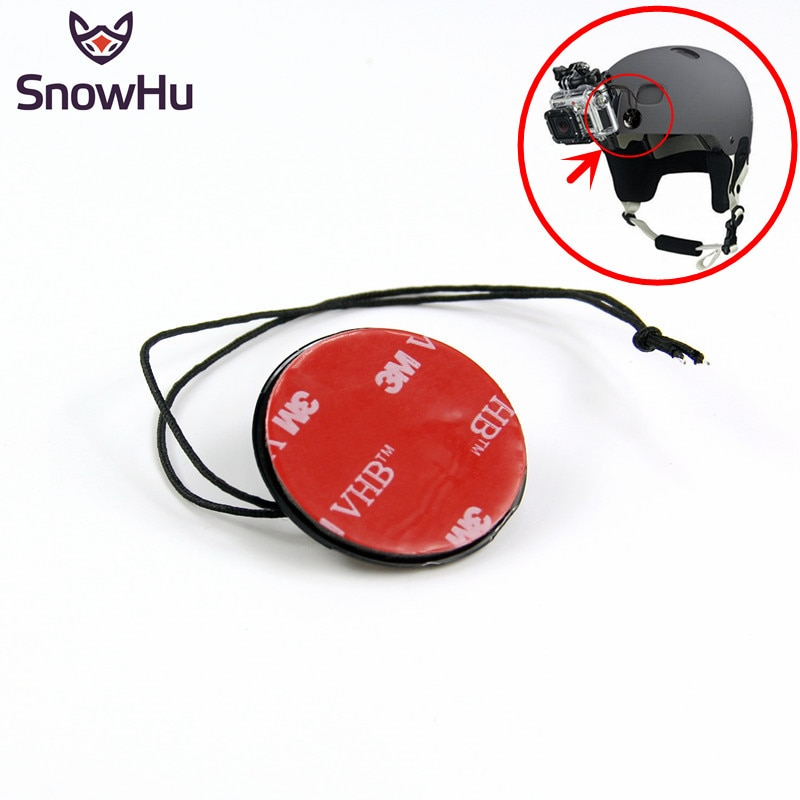 Аксессуары snowhu для GoPro страховочный трос ремни с наклейкой крепление 3 м для Go Pro Hero 8 7 6 5 4 3 + Xiaomi Yi GP21