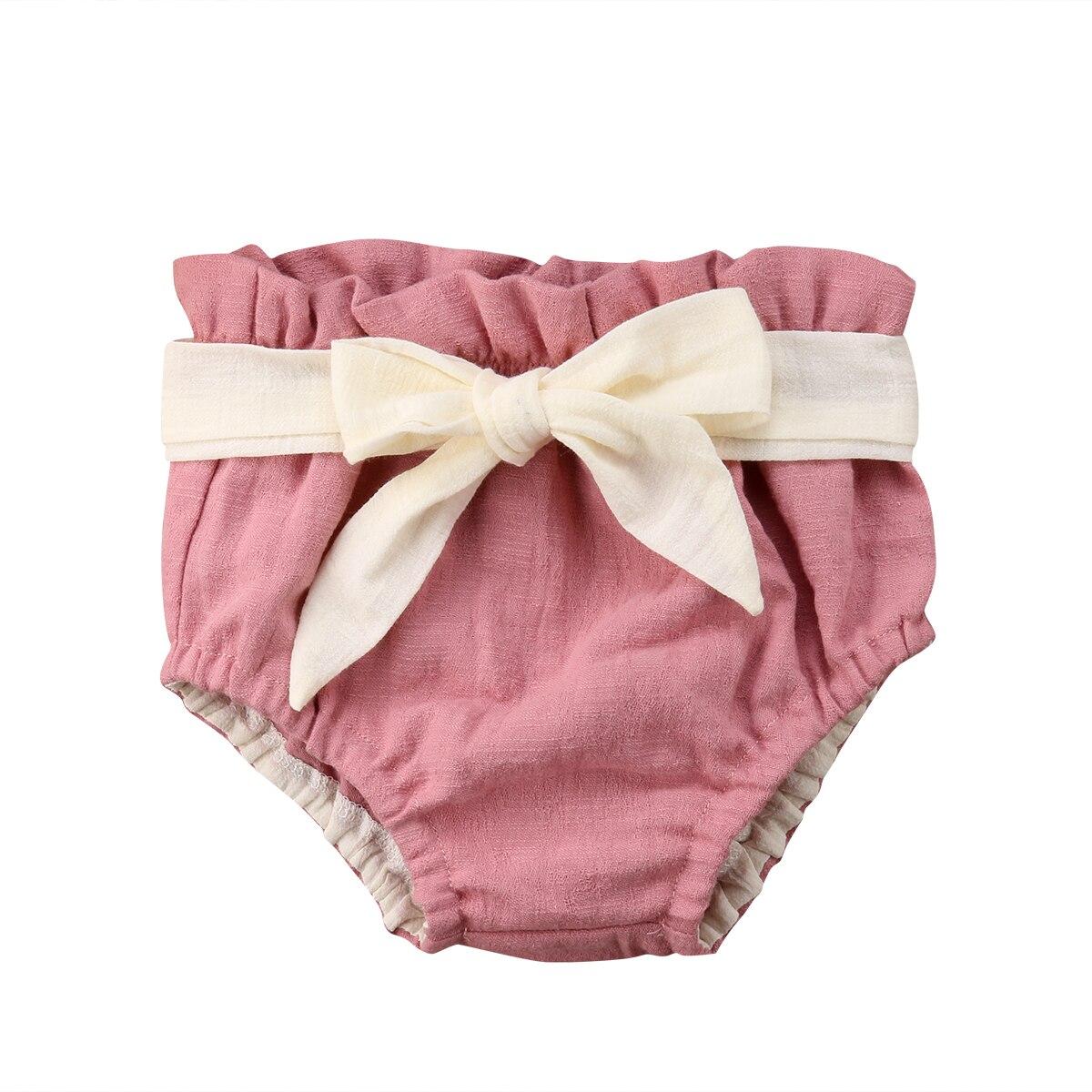 Bowknot Baby Mädchen Rüsche Pumphose Shorts