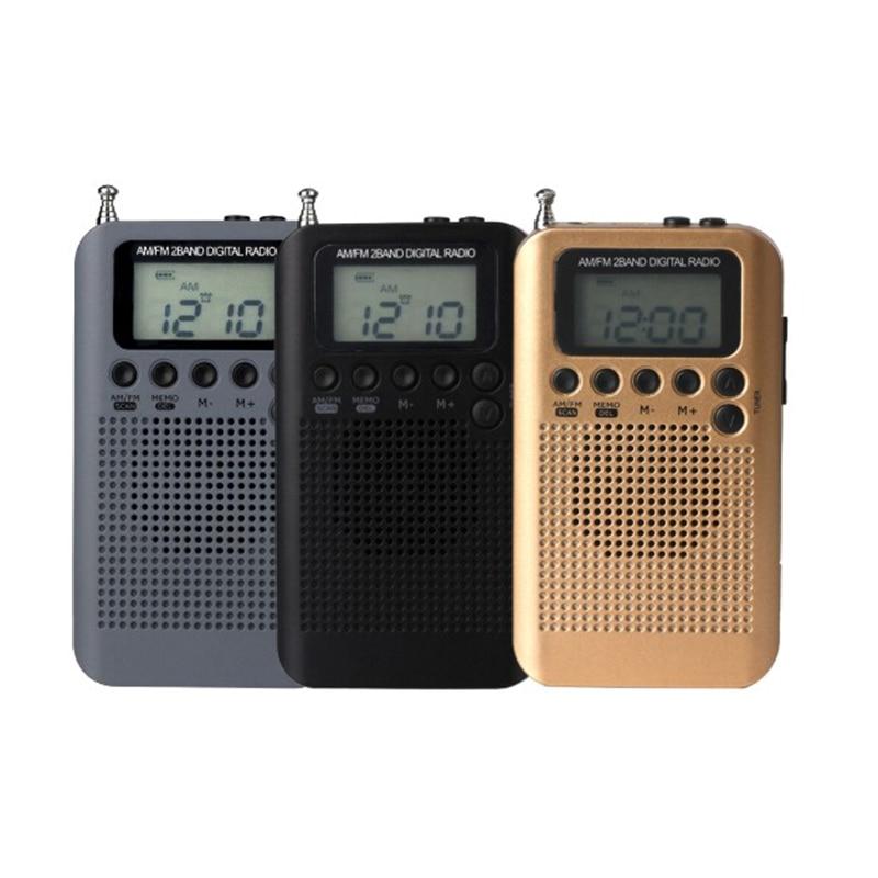 Sintonizador Digital estéreo de banda completa FM/AM, Mini Antena de Radio con...