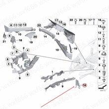 Silnika osłona zewnętrzna silnika partycji zapory nadaje się do X5b mwX6 E70 E71 3.0 3.5 4.0 4.5 2008-2014 silnika z tworzywa sztucznego partycji