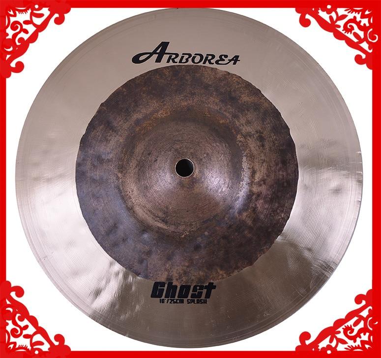 "B20 Handmade Arborea Ghost 10"" Splash Cymbal For Drumset"