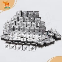 great discountwantai 60 pcs nema 17 stepper motor 4800g cm2 5a 42byghw811 cnc robot 3d i3reprap printer
