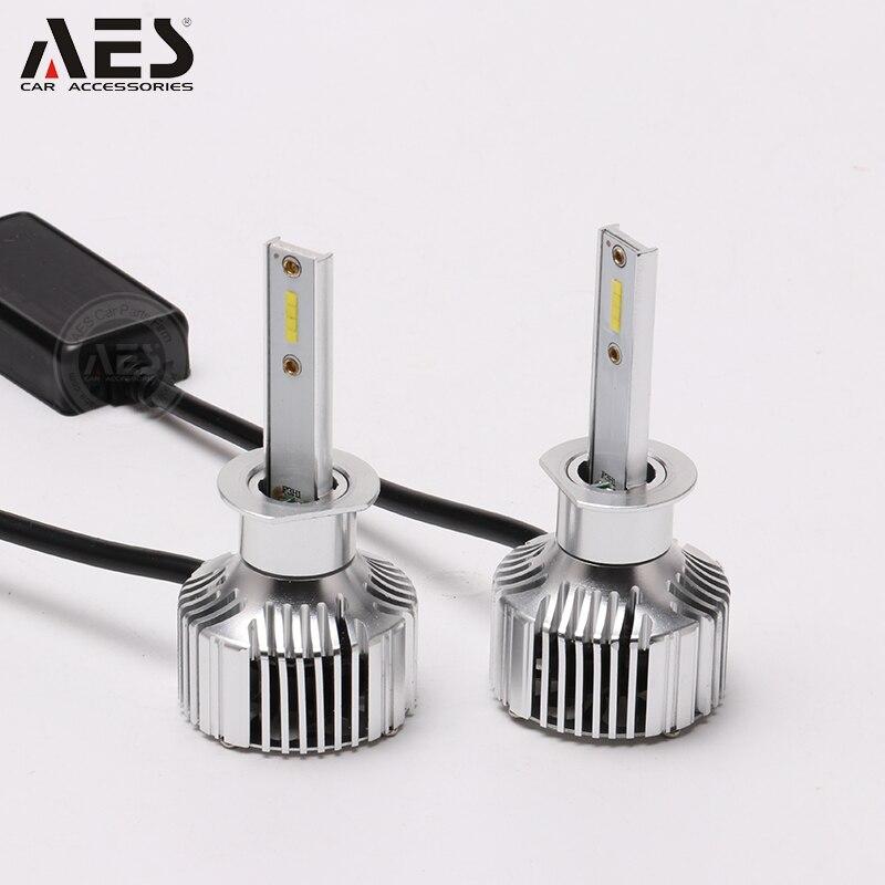 Envío Gratis 2018 GS 40W Bombillas de faros LED de alta calidad coreano CSP Chips LED IP67 coche faros H1 H7 H11 9005 9006 H4 9012