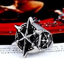 BEIER 316L Edelstahl Klassische Stern von David Männer Ring Einzigartige Hexagramm Mode Schmuck Geschenk Dropshipping