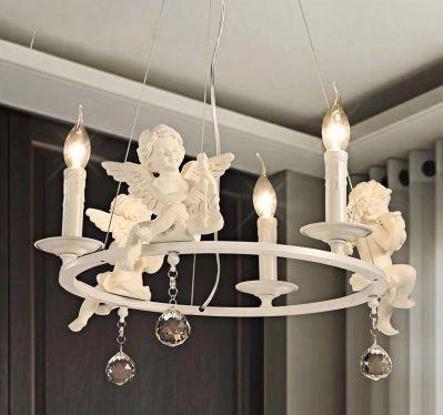 مصباح السقف المعلق بتصميم ملاك الدولة الأمريكية ، مصباح الشمال المزخرف ، مثالي لغرفة المعيشة أو غرفة الطعام أو غرفة الأطفال أو غرفة النوم.