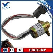 Электромагнит для остановки подачи топлива 12 В 119233-77932 1503ES-12S5SUC12S для выключения электромагнита выключения Yanmar Woodward