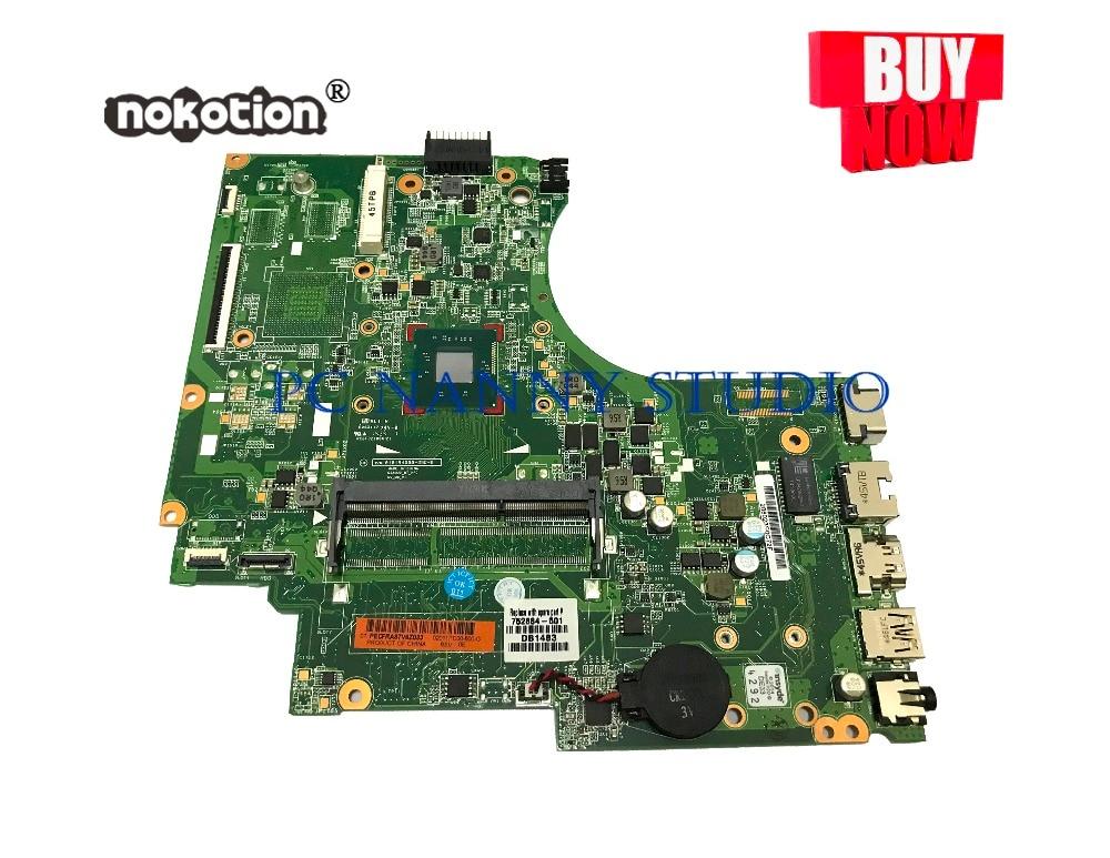 PCNANNY 752884-501 752884-001 لإتش بي جناح 14-D 240 G2 اللوحة المحمول N2820 DDR3 اختبار