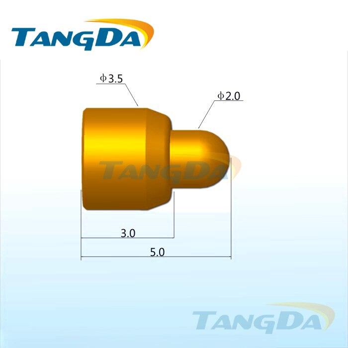 Tangda-موصل دبوس pogo ، موصل بطارية الهاتف المحمول ، DHL/EMS D3.5 * 5.0 مللي متر 2A