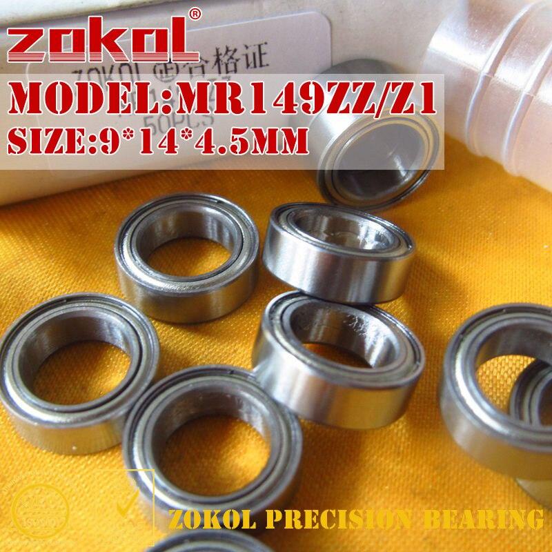 ZOKOL MR149 ZZ rodamiento MR149ZZ Z1 igual que rodamiento rígido de bolas en miniatura 679ZZ 9*14*4,5mm