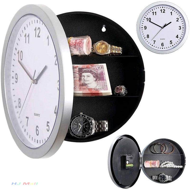 Creativo Secreto Oculto De Pared De Almacenamiento Reloj Casa Decroation Oficina Seguridad Dinero Alijo De Joyas Cosas