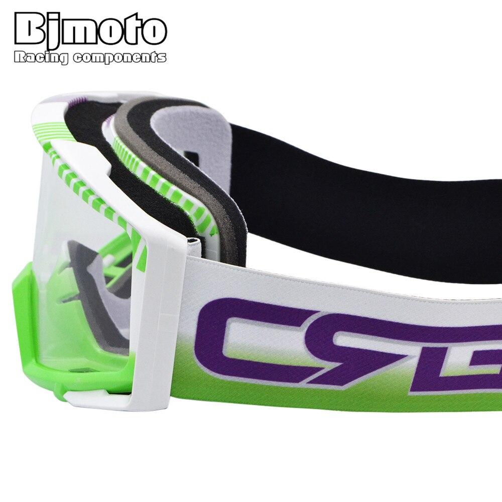 Bjmoto Vintage Motorcycle Helmet Google Goggles BMX Off Road Dirt Bike Adult Motocross Goggles Glasses enlarge