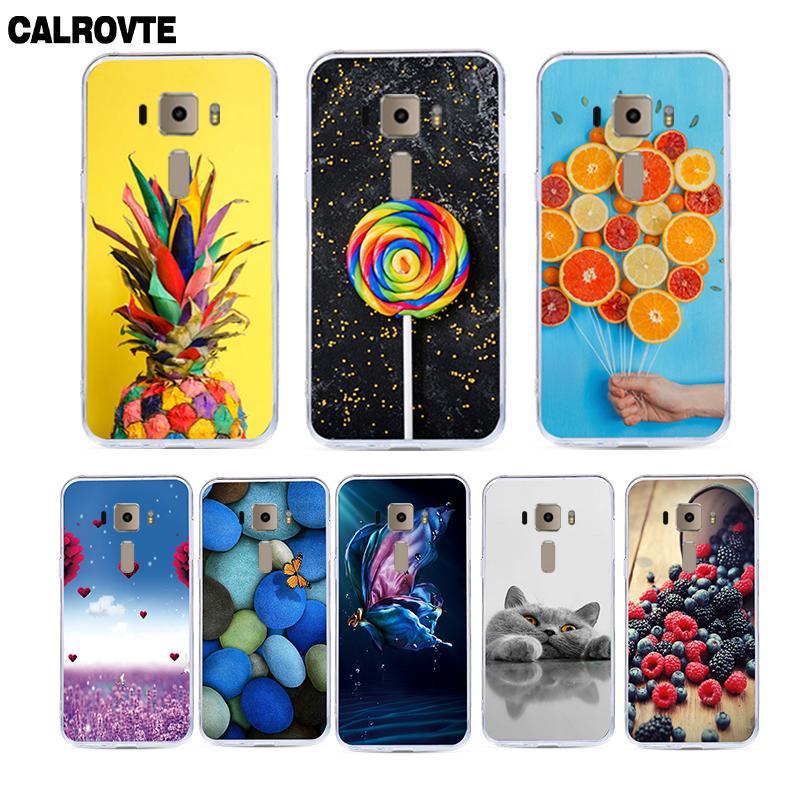 CALROVTE Phone Case For Asus ZenFone 3 ZE520KL Z017DA ZE ZE520 520 520KL KL Cute Cartoon Animal Soft Silicone Back Cover Cases