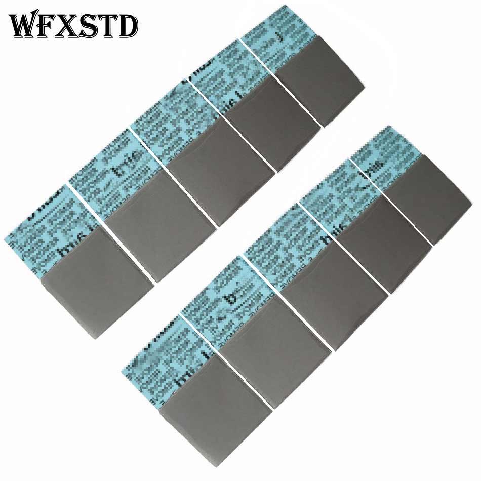 Wfxstd 1mm silicone gpu almofada térmica para laird notebook gráficos memória beiqiao cpu gpu almofada de sílica térmica flex740 almofada condutora