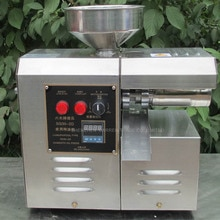 Machine de presse à huile domestique taux dextraction dhuile élevé SG30-2D de presseur dhuile dacier inoxydable déconomie de travail