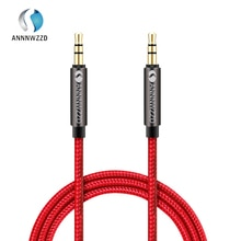 ANNNWZZD 3.5mm Premium Auxiliary Audio Cable AUX Cable for Headphones, iPods, iPhones, iPads, Home /