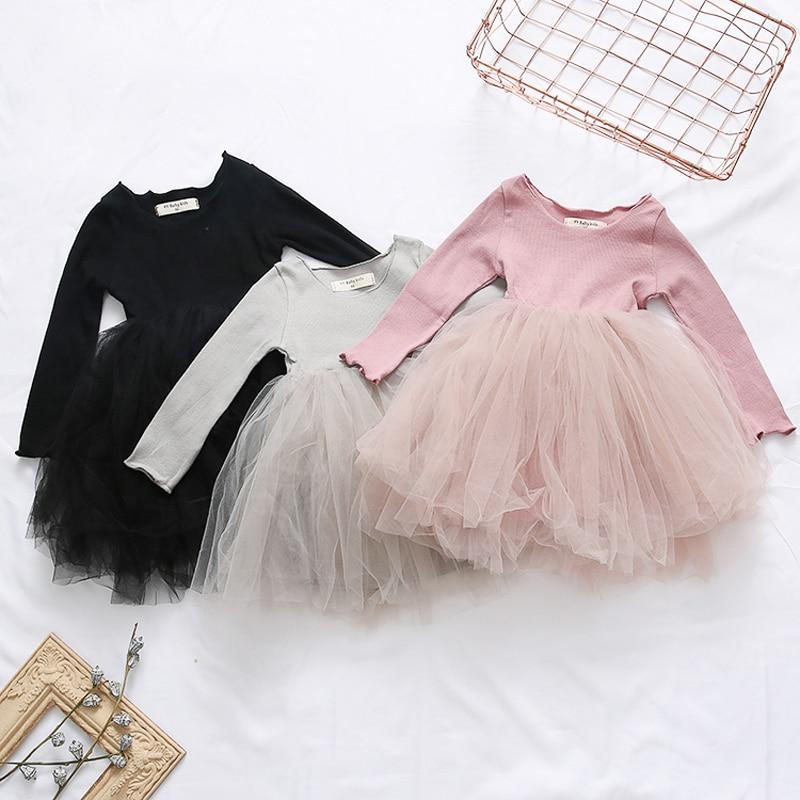 MERI AMMI/комплект детской одежды для девочек; Платье с цветочным рисунком и длинными рукавами; Вечерние платья-пачки для От 2 до 8 лет девочек; J639