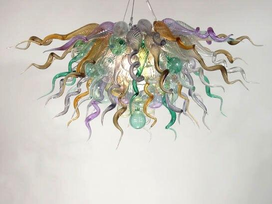 Candelabro de cristal Murano decoración Interior moderna