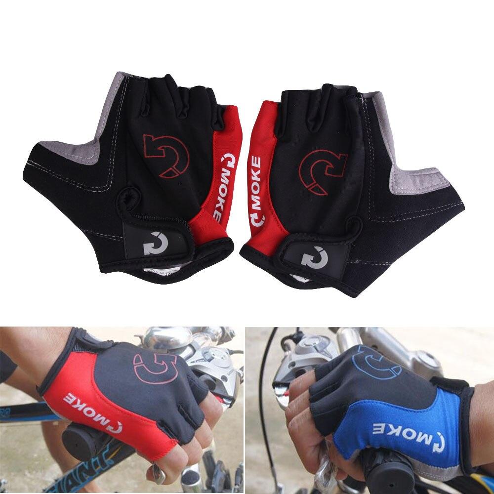 Guantes de Ciclismo para hombre y mujer, de medio dedo, antideslizante, de...