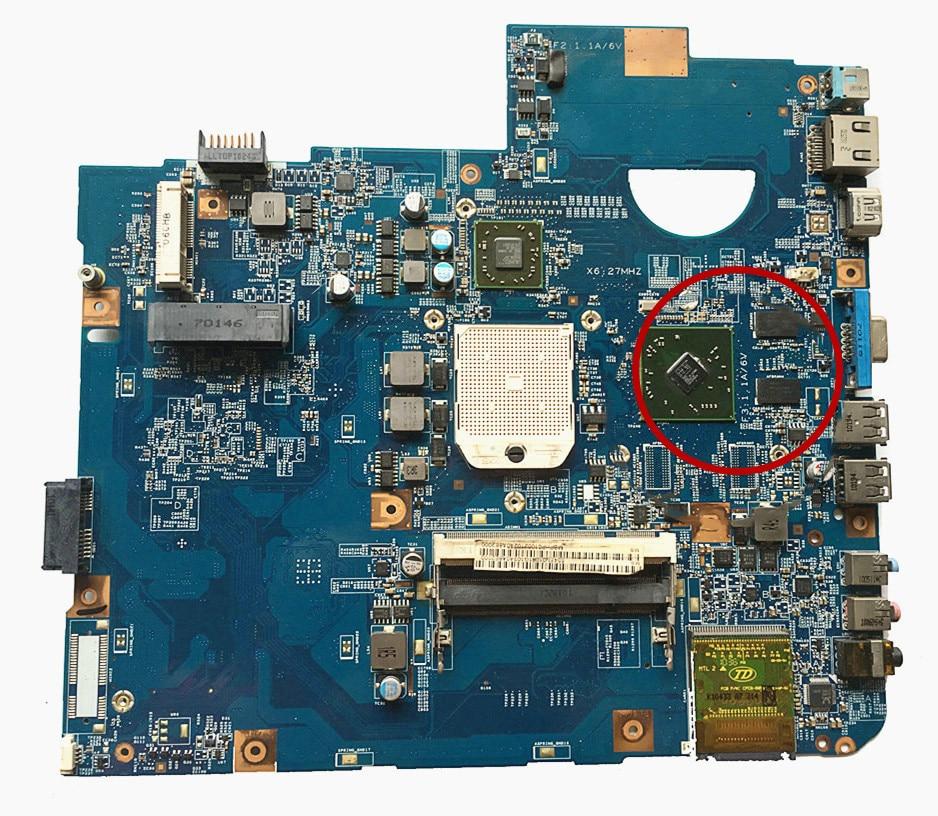 Excelente para la placa base del ordenador portátil ACER 5542G DDR2 MB. PHP01.002 MBPHP01002 48.4FN02. 011 100% en funcionamiento