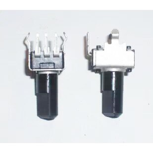 20PCS RV09 Type Vertical Adjustable Potentiometer/Adjustable Resistor 10K 50K B103 B503 B10K Semiaxis/Half Shaft Potentiometer
