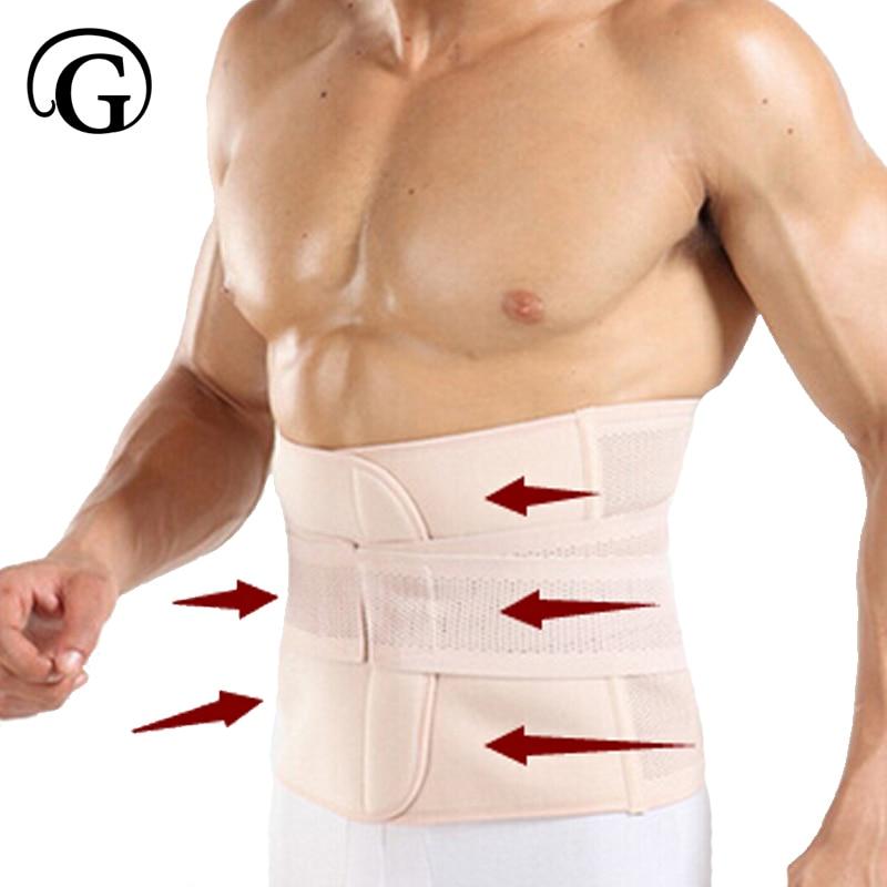 Мужской пояс для похудения, пояс для живота, пояс для талии, Корректор осанки на спине, тренажер для тела