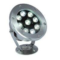 Bright 9X1W LED underwater flood light IP68 Waterproof light LED outdoor Pool Pond lamp light DC12V 24V OR AC85-265V