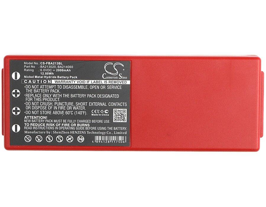 Cameron Sino 2000mAh batería de la batería 005-01-00466 BA213020... BA214060... BA214061 para HBC Radiomatic espectro 2 Radiomatic espectro 3