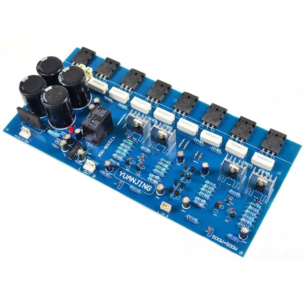 2SC5200 2SA1943 400W + 400W puro Post-amp de placa amplificadora de potencia