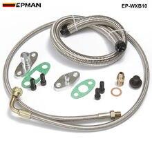 T3, T4, T35, T40, T60, T67, T70, T76 Turbos Turbo huile/eau alimentation vidange Kit de ligne EP-WXB10