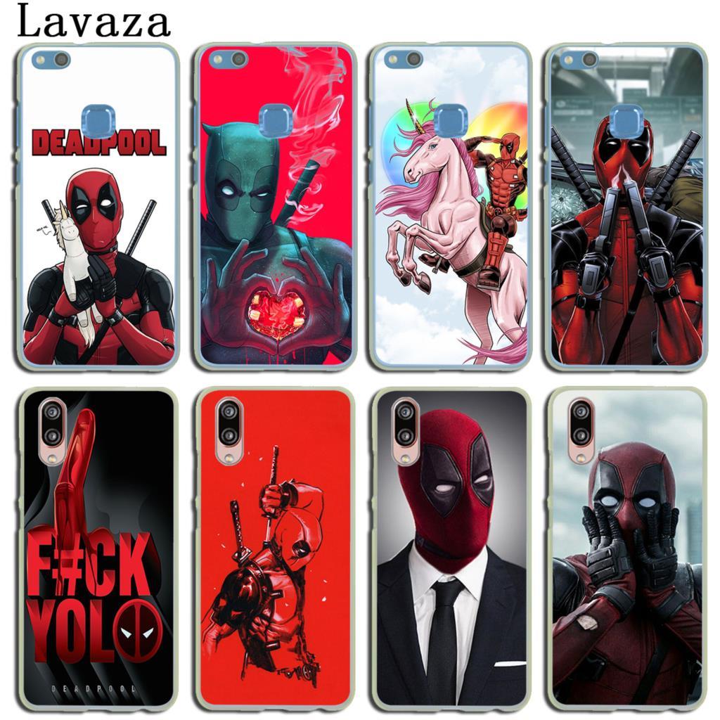 Чехол для телефона Lavaza Marvel deed pool Deadpool для Huawei P30 P20 P9 P10 Plus P8 Mate 20 Pro Lite Mini 2016 2017 P smart 2019