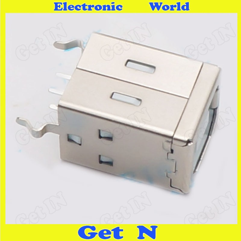 500 عمودي نوع B طابعة وصلة مرفاع 180 درجة USB مقبس بيانات للطابعة