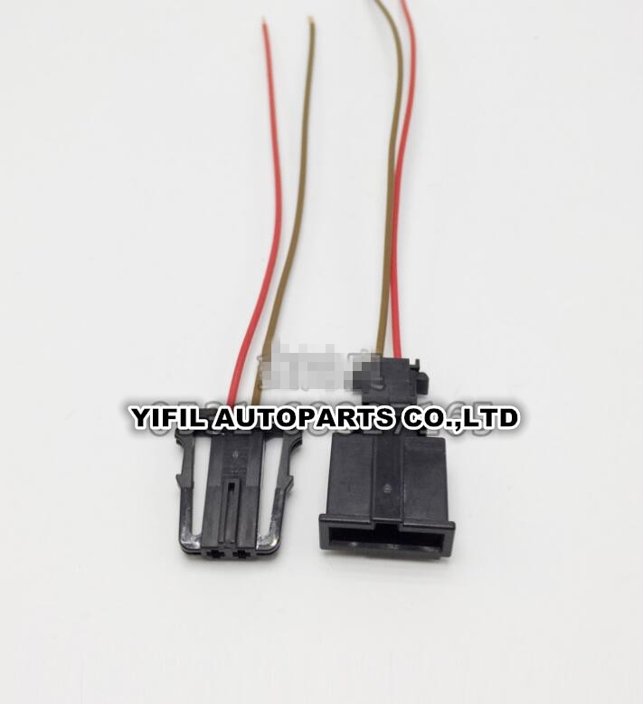 4 set/lote Tweeter luces de puerta conector baúl de las luces de la matrícula de macho cable flexible para VW Audi 3B0 972 712 1J0 971, 972