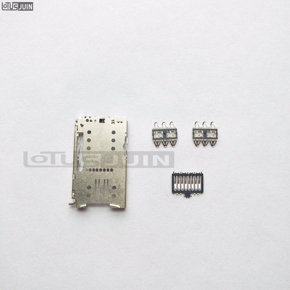 Para Meizu M6 MINI/M6 Note conector del lector de tarjetas SIM soporte bandeja ranura Socket