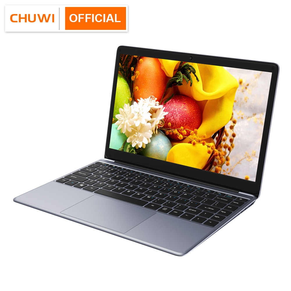 CHUWI HeroBook 2019 14.1 Polegada 1920*1080 OS Intel Quad Core 4GB RAM 64 Window10 GB ROM Laptop 38Wh Mini HD M.2 Expansão