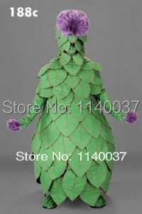 Disfraz de mascota cosplay alcachofa vegetal mascota disfraz personaje de dibujos animados carnaval disfraz de fiesta de disfraces