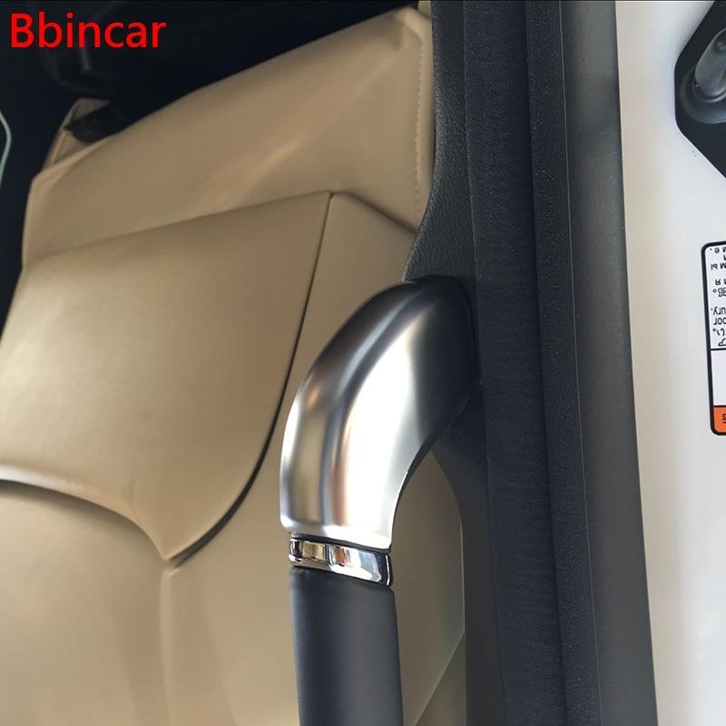 Barandilla de puerta trasera cromada de ABS Bbincar, guarnición de reposabrazos Interior, accesorios de superposición, 4 Uds. Para Toyota Alphard Vellfire 2015 2016 2017