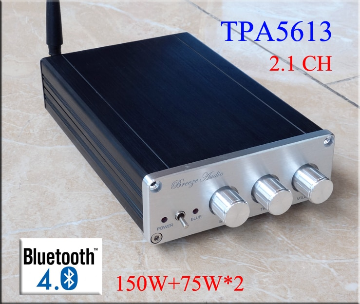 2019 brisa de Audio TPA5613 BA10C 2,1 Canal Digital amplificador de Audio Bluetooth 4,2/5,0 (opcional) 75W * 2 + 150W * 1 salida de Subwoofer