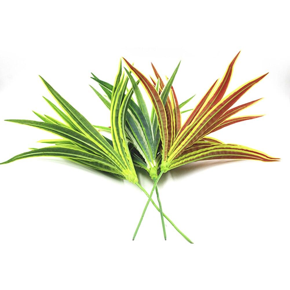 3 peças de seda flor artificial deixar cebola grama decoração flor organizar gramado engenharia decoração casa simulação plantas