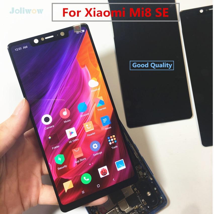 Todo probado, buena Pantalla Amoled LCD para Xiaomi mi 8 Mi8 SE, montaje de pantalla LCD, pantalla táctil para xiaomi mi8 se lcd de 5,88 pulgadas