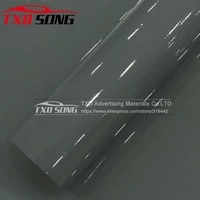 1 5230m high glossy cement gray vinyl film super shiny glossy vinyl film car wrapping foil with air bubble free