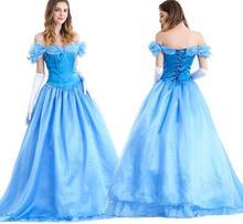 Movie Cinderella Princess Snow White Cosplay Dress Version 2