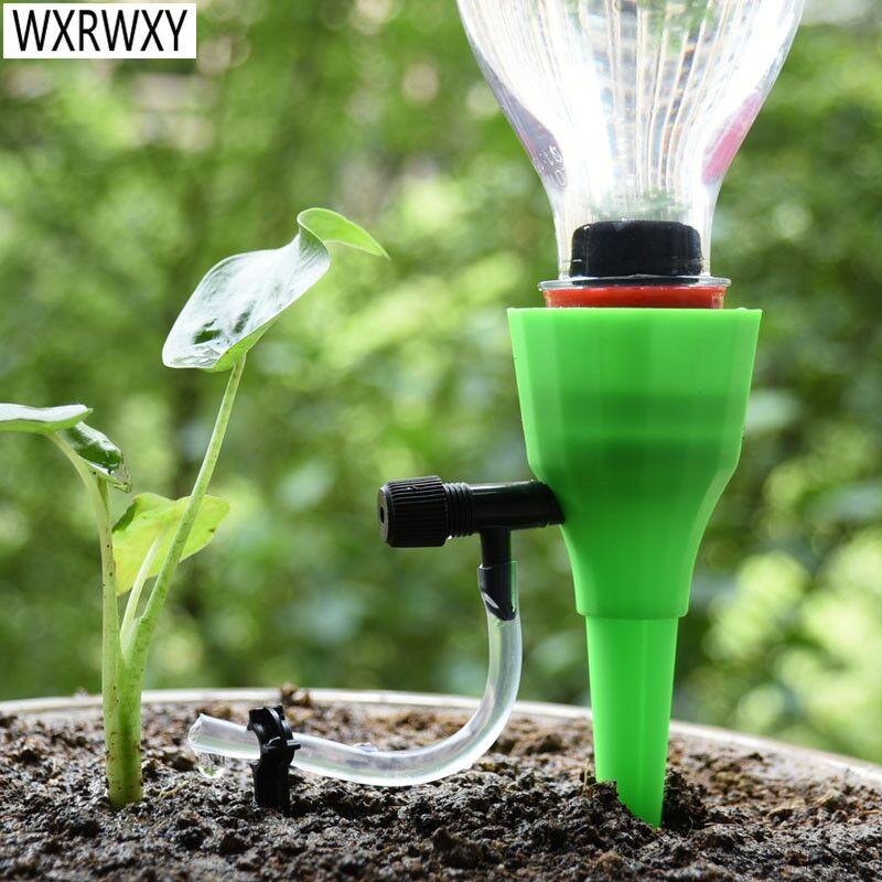 Sistem automat de irigare prin picurare DIY udatoare automate de plante conice udare apă ghiveci de plante udare 1buc