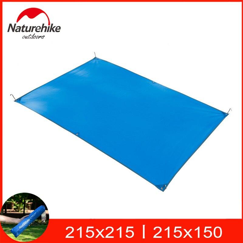 Lona de acampada impermeable Naturehike, alfombra de Picnic de 2x1,5 m para tiendas de campaña de 2 personas/215x215cm para tiendas de 3-4 personas